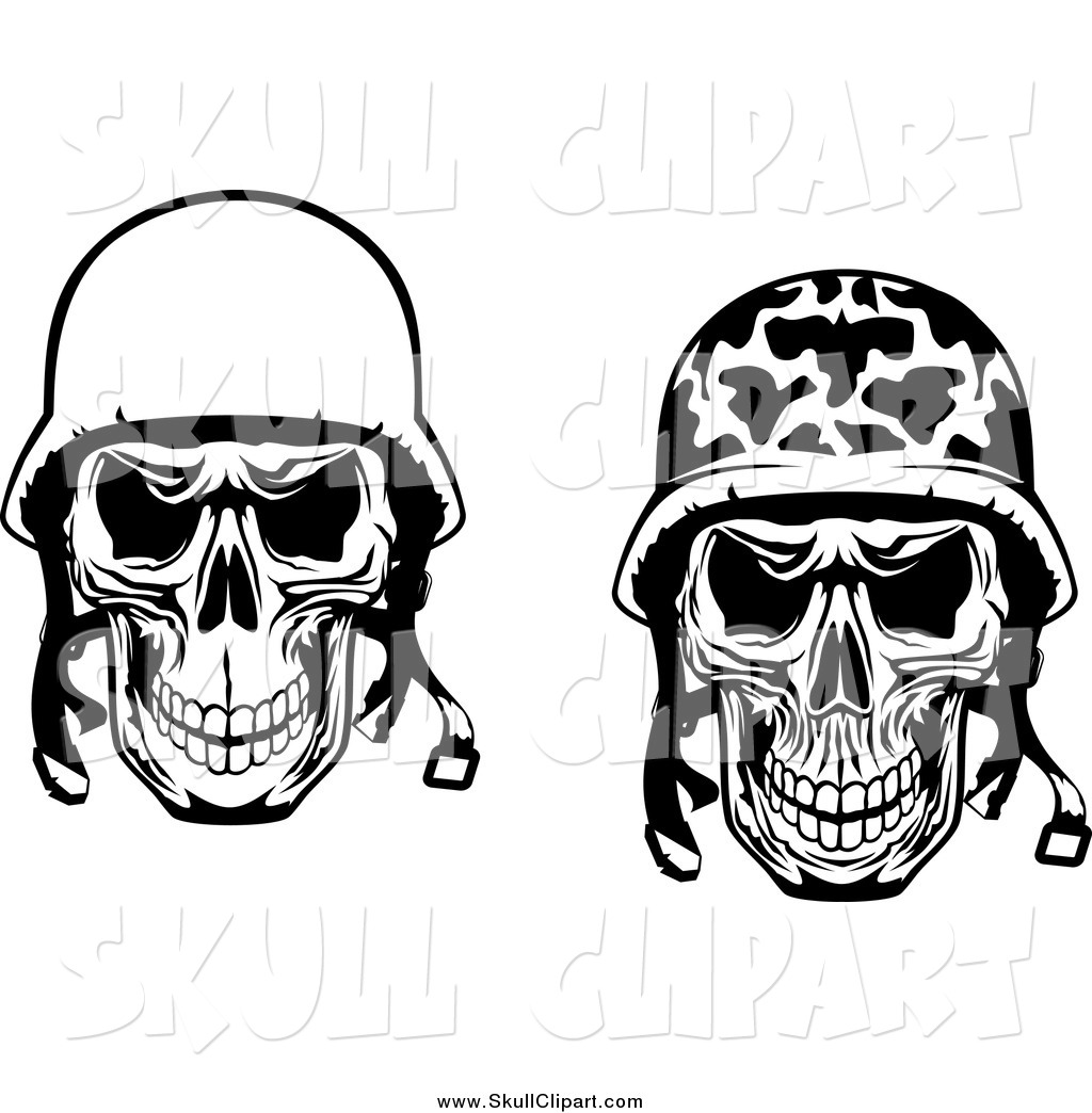 Military Skull With Helmet | www.pixshark.com - Images ...