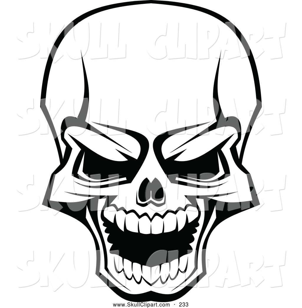 royalty free black and white stock skull designs page 3