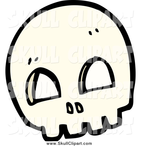 Vector Clip Art of a Skull